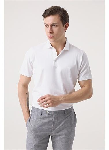 Damat Damat Gri T-Shirt Beyaz